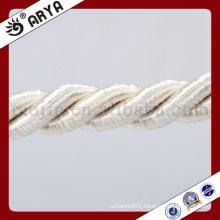 zhejiang hangzhou taojin beautiful curtain Decorative Rope for sofa decoration or home decoration accessory,decorative cord,6mm