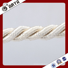 Zhejiang Hangzhou Taojin cortina bonita Corda decorativa para decoração de sofá ou acessório de decoração de casa, cordão decorativo, 6mm