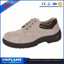 Sapatas de trabalho do tipo, sapatas de segurança de pouco peso Ufa108 das mulheres