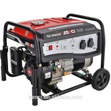 7 HP 3.2KW / 2.8KW SC3500-I 60HZ / 50HZ Grupo electrógeno