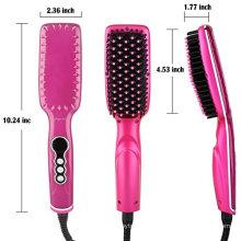 Hair Straightener with Brush