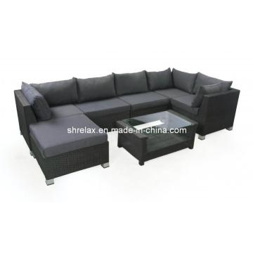 Wicker Patio Sofa Lounge Set Garden Outdoor Rattan Furniture