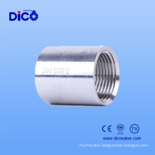 Alibaba Express Casting Threaded Stainless Steel Half Coupling
