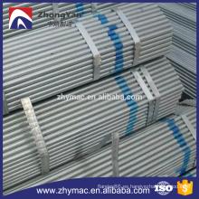 ASTM A53 caliente sumergido galvanizado tubo tubo, petróleo y agua