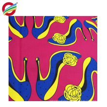 Tissu de cire africaine 100% polyester résistant à la déchirure