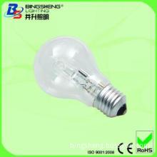 Hot Selling A19 Halogen Lighting Bulb 28w E27/B22
