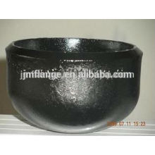 Carbon steel welded pipe end cap large diameter