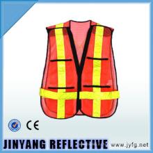 высокой видимости 5 см ленты сетки безопасности жилет / одежды