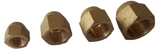 Forged brass nut