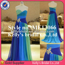New arrive three color evening dress from kelly bridal
