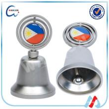 Campana de aleación de zinc, campanas de bronce de mano, campana de latón colgante