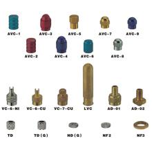 Metall-Reifenventilkappen