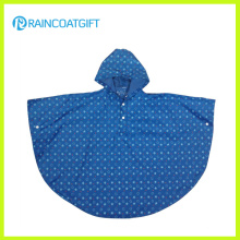 Polyester PVC Children Rain Poncho with Full Printing Rvc-085