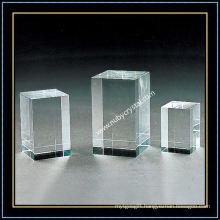Crystal Block Blank for Engraving