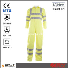 Sicherheit Yellow Fire Flame Retardant Coverall