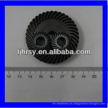Engranaje de transmisión, engranaje cónico espiral pequeño
