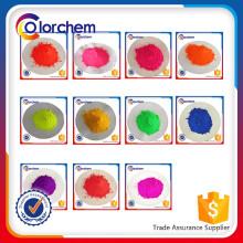 Pigmento fluorescente em pó para tinta, revestimento em pó, coloração de plástico