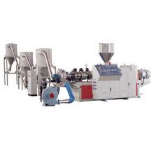 Machine de granulation de PVC + Wood powder wpc