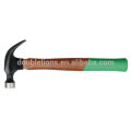 claw hammer with wooden/fiberglass/plastic handle