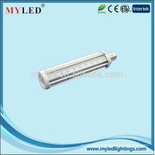 New style G24 2pin 4pin G23 E27 9w led pl light