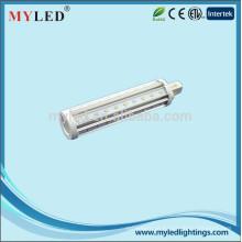 O estilo novo G24 2pin 4pin G23 E27 9w conduziu a luz do pl