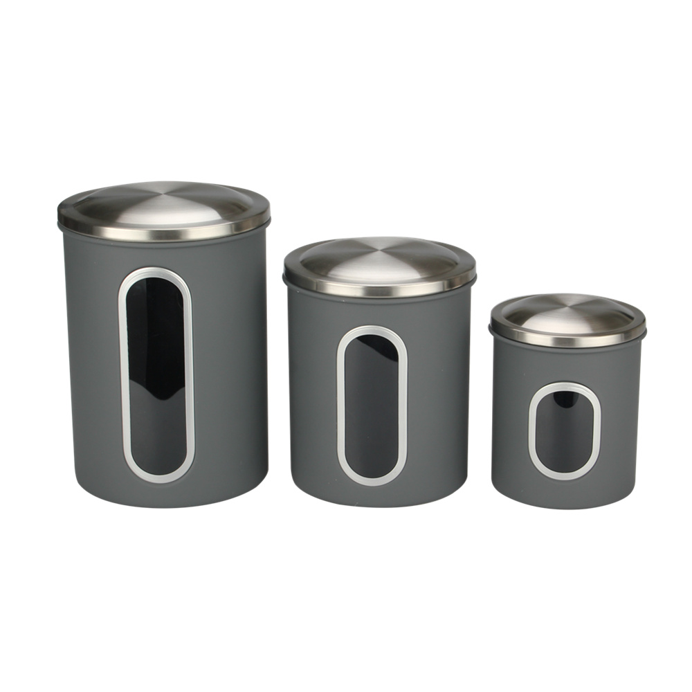 canister set with window