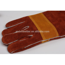 A9 47cm palm and thumb thicker welding gloves cow split leather welding gloves