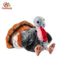Custom Christmas Stuffed Animated Turkey Plush Toy