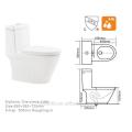 CB-9524 China Fabrik modernes Design hohe Qualität Siphon Spülung WC Darm CUPC