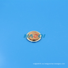 Pequeño disco magnético fuerte de NdFeB