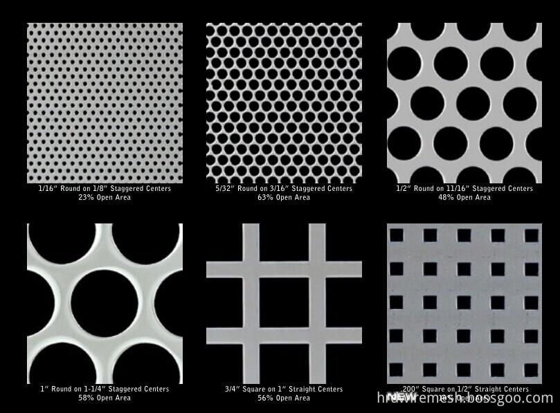 Blachy Perforowane Dekoracyjne Metalowe Panelealuminium