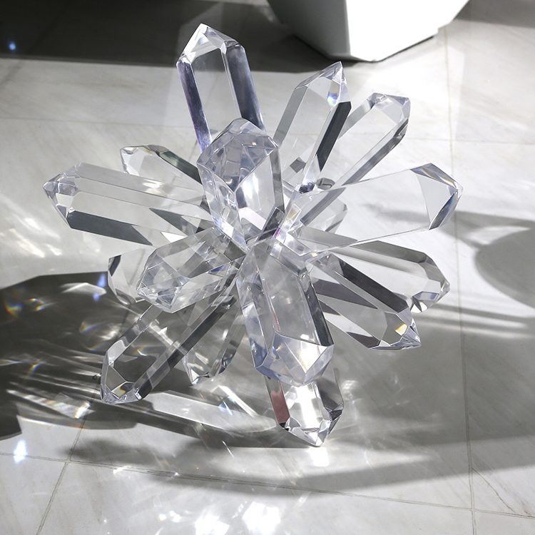 Large Acrylic Snowflake Display Snowflake 2