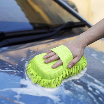 Премиум-чистящие рукавицы из синелевой микрофибры для чистки автомобилей