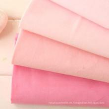 60s Tela de algodón lavada plana 100% algodón Tencel Look Tela