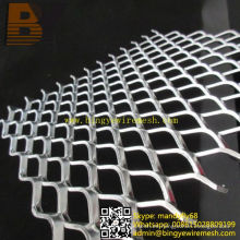 Aluminio Streckgitter Baumaterial Hoja Expandida