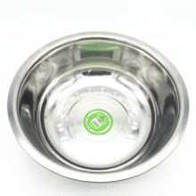stainless steel round food storage bowl