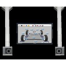 3 Cameras 3D Wheel Alignment