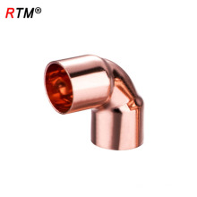 A 17 4 11 codo reductor codo de cobre largo con codo de cobre