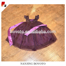 Wholesale one piece dark purple backless dress