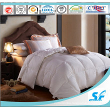 90/10 Duck Feather Down and Microfiber Fabric Comforter Hotel Duvet