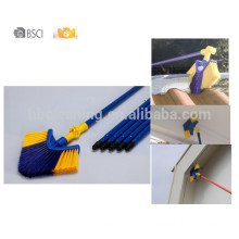 10years factory ceiling broom,360 degree swivel corner brush, 0 risk eaves broom,