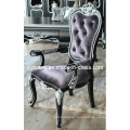New-Classical Style Wood Fabric Seat Chair (2705-B)