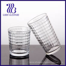 7-16oz Water Glass with Gridiron Designs (TK-1238C & TK-507C)