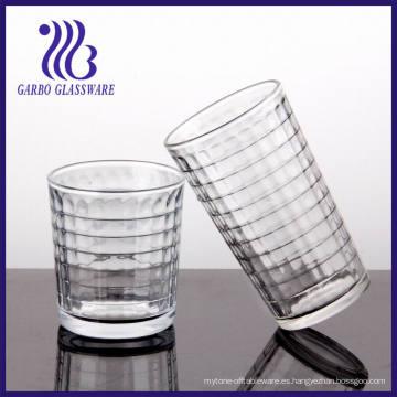 7-16oz de vidrio de agua con Gridiron diseños (TK-1238C y TK-507C)
