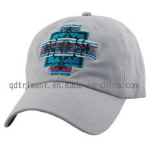 Lavado algodão sarja bordado golf cap boné de beisebol (TMB0911)