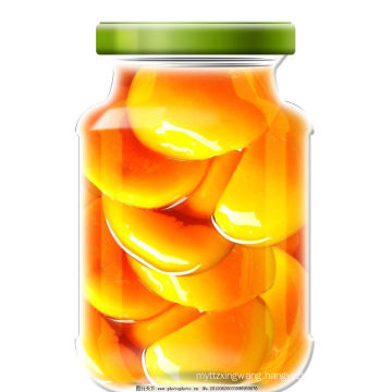 Canned Yellow Peaches halves In Light Syrup ---Canned Fruit