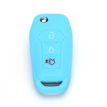 Ford 3 Knappar Silicone Remote Key Cover