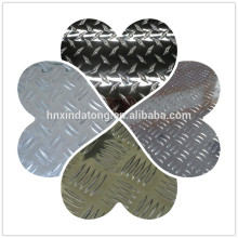 plaque gaufrée en aluminium 5754 H24