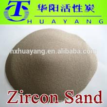 Haute pureté 66% prix du sable de zircon