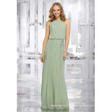 Зеленый Шифон Линии Платье Свадебные Платья Невесты
